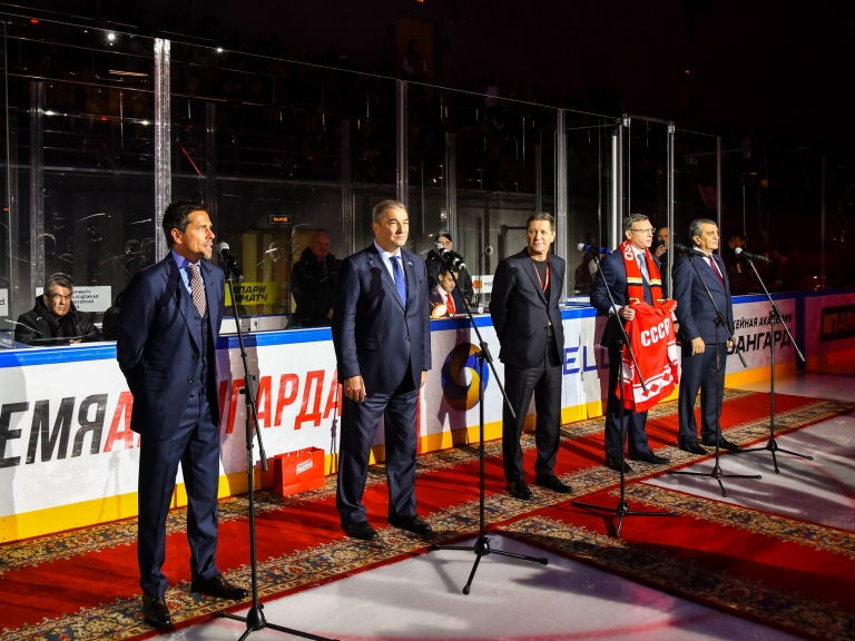 В Омске открылся центральный комплекс Хоккейной Академии «Авангард»